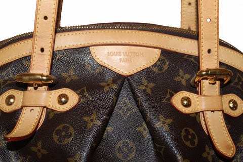 Authentic Louis Vuitton Classic Canvas Tivoli GM Shoulder Bag