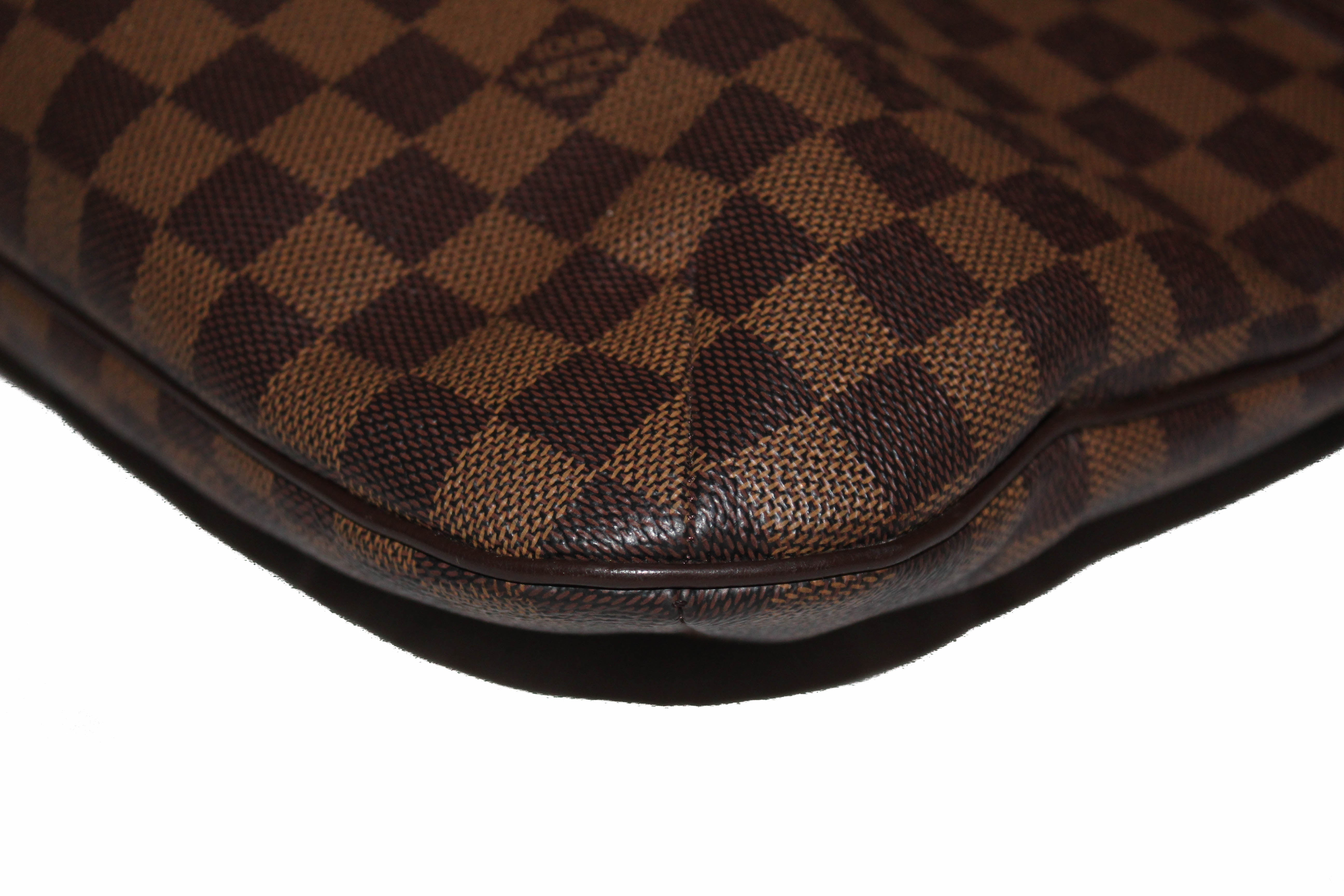Authentic Louis Vuitton Damier Canvas Bloomsbury PM Messenger Crossbody Bag
