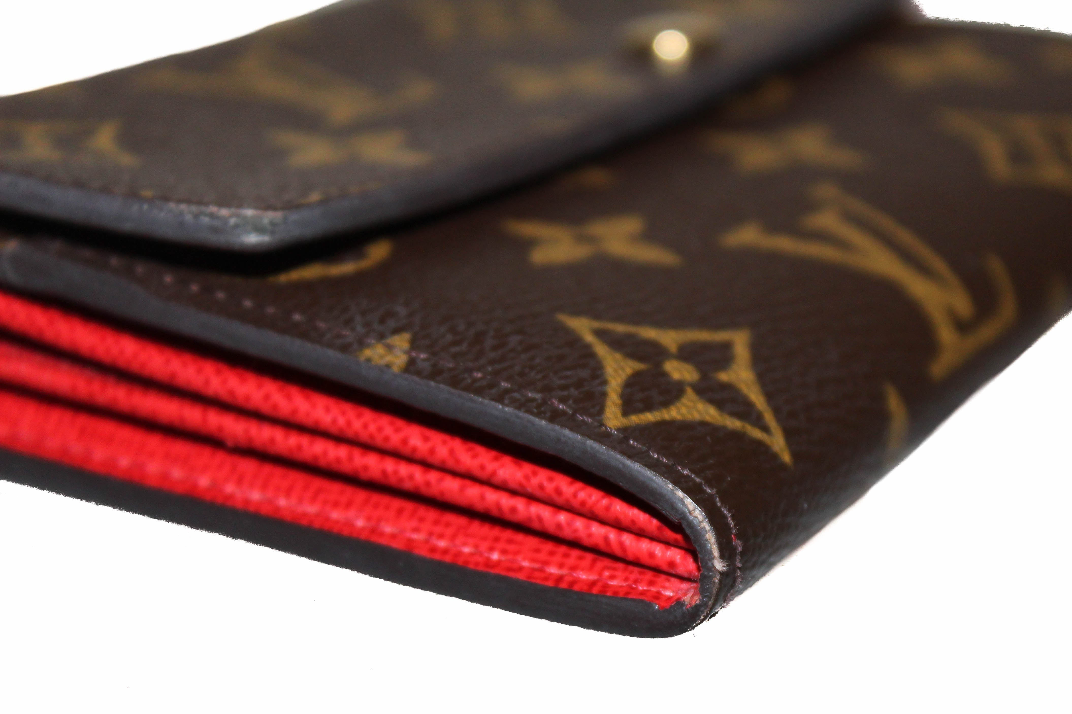 Authentic Louis Vuitton Limited Edition Monogram Groom Sarah Wallet