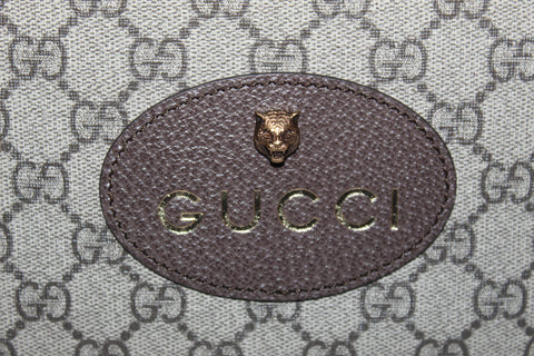 Authentic New Gucci Neo Vintage GG Supreme Messenger Bag