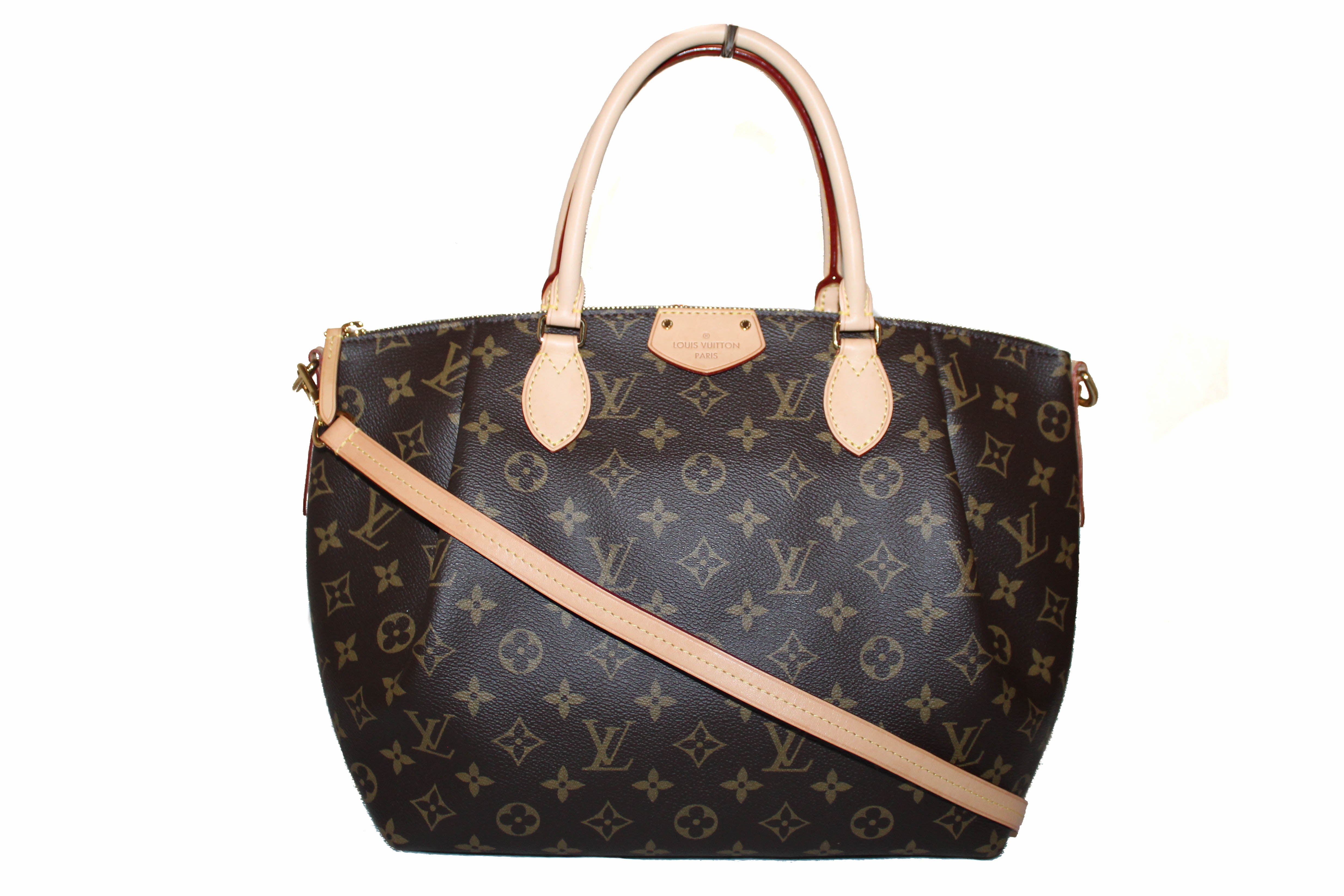 Authentic Louis Vuitton Classic Monogram Turenne MM Hand/Crossbody Bag