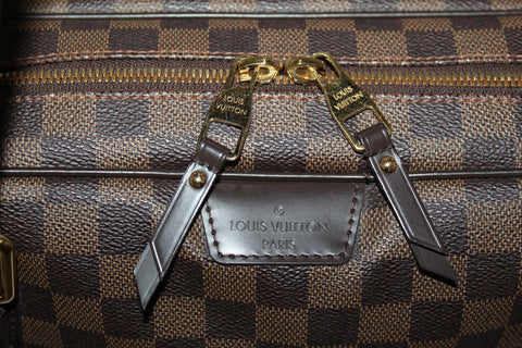 Authentic Louis Vuitton Damier Ebene Rivington GM Shoulder Bag