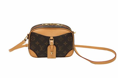 Authentic Louis Vuitton Monogram Deauville Mini