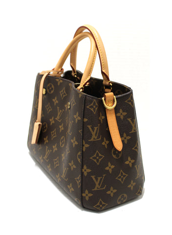 Authentic Louis Vuitton Monogram Montaigne BB Shoulder/Handbag