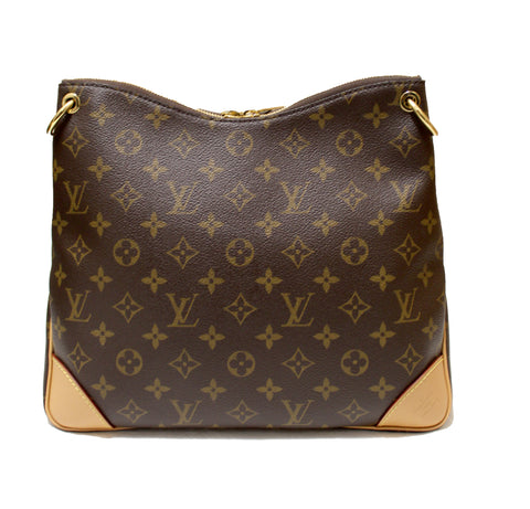 Authentic Louis Vuitton Classic Monogram Odeon MM Shoulder Bag