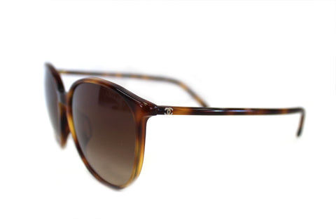 Authentic Chanel tortoise shell sunglasses 5278-A