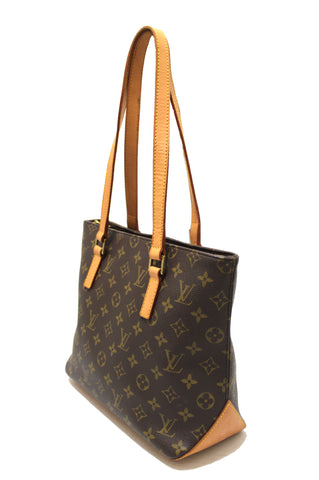 Authentic  Louis Vuitton Classic Monogram Canvas Piano Tote Shoulder Bag