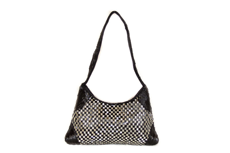 Authentic Folli Folli Black Bead Bag