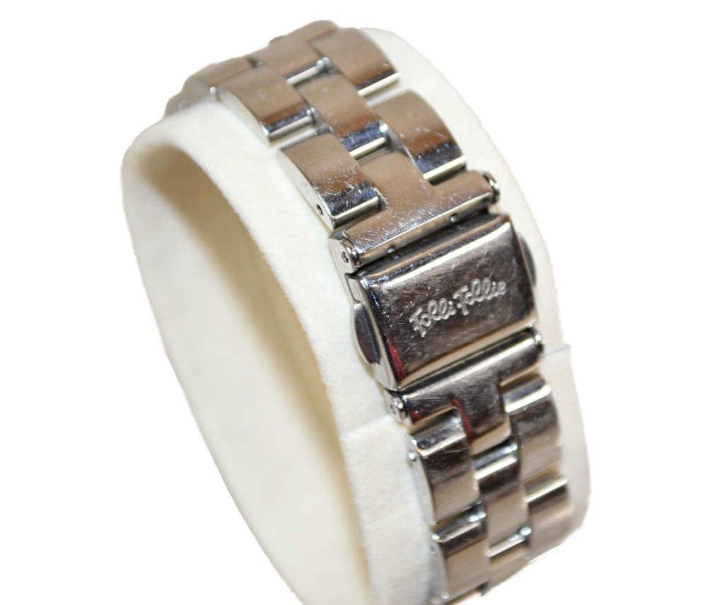 Authentic Folli Follie Silver Stainless Steel Women's Watch