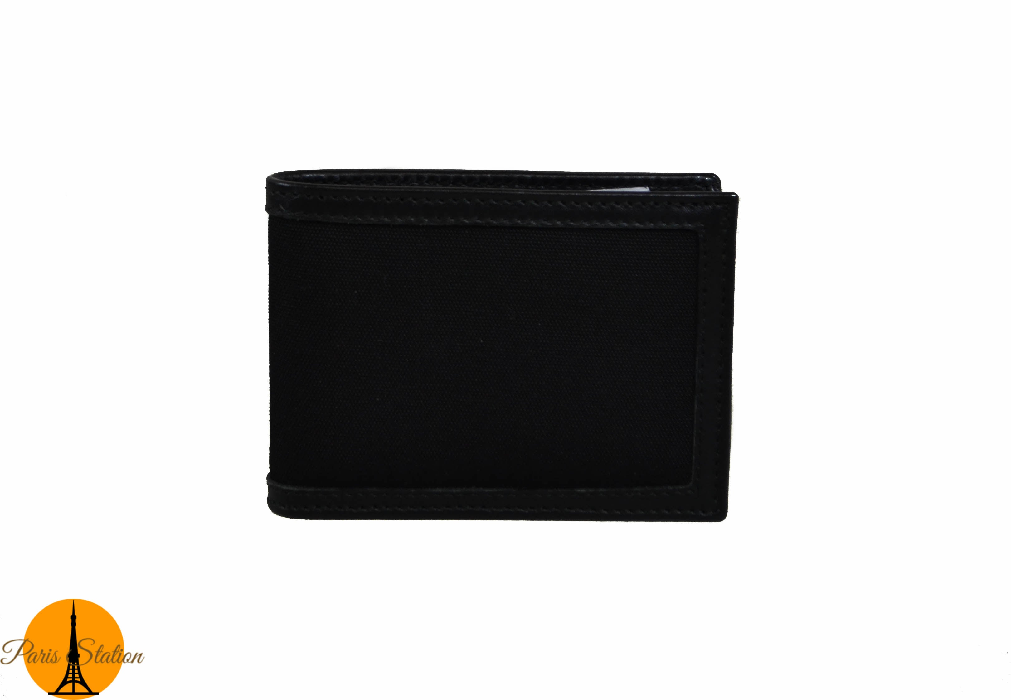 Authentic NEW Gucci Black Canvas Bi-Fold Men's Wallet 233157