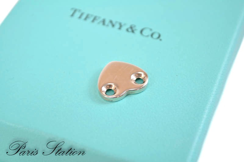 Authentic Tiffany & Co Sterling Silver Heart Pendant