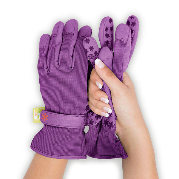 Dig It® Handwear Women's Utility and Gardening Gloves Purple