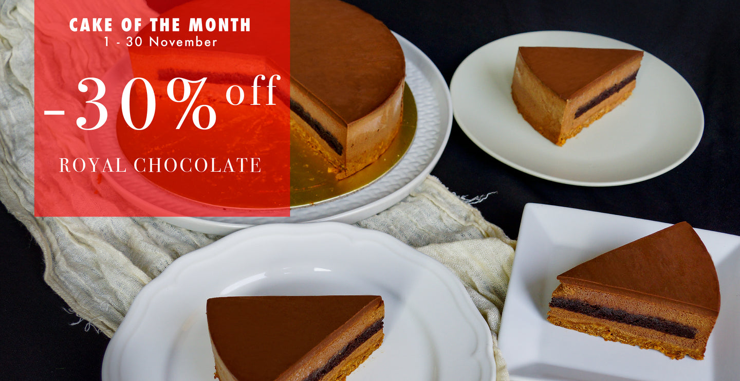 Royal Chocolate Cake <Discount Included>
