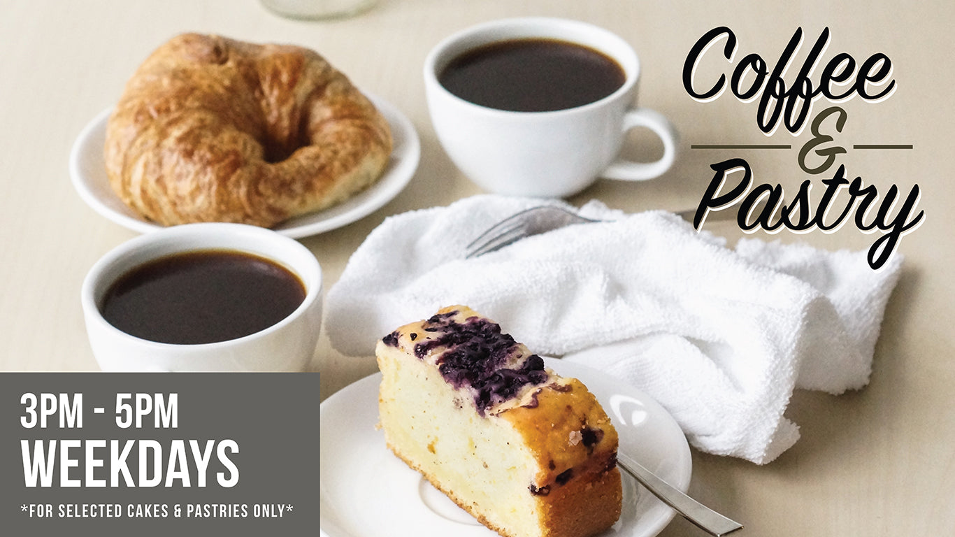 Coffee & Pastry Set (3pm-5pm)