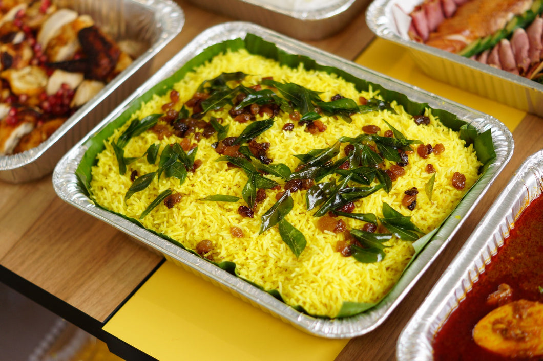 Cumin Yellow Rice Tray