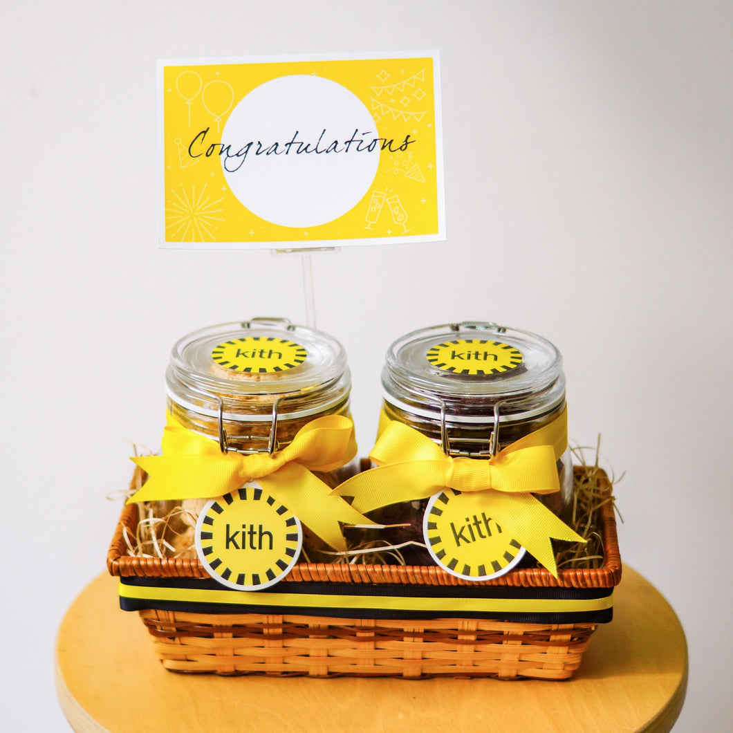 Cornflake and Magical Sea Salt Chocolate Cookie Jars Gift Set