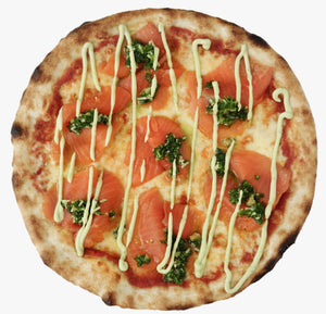 "9"" Pizza: Smoked Salmon (from 11am)"