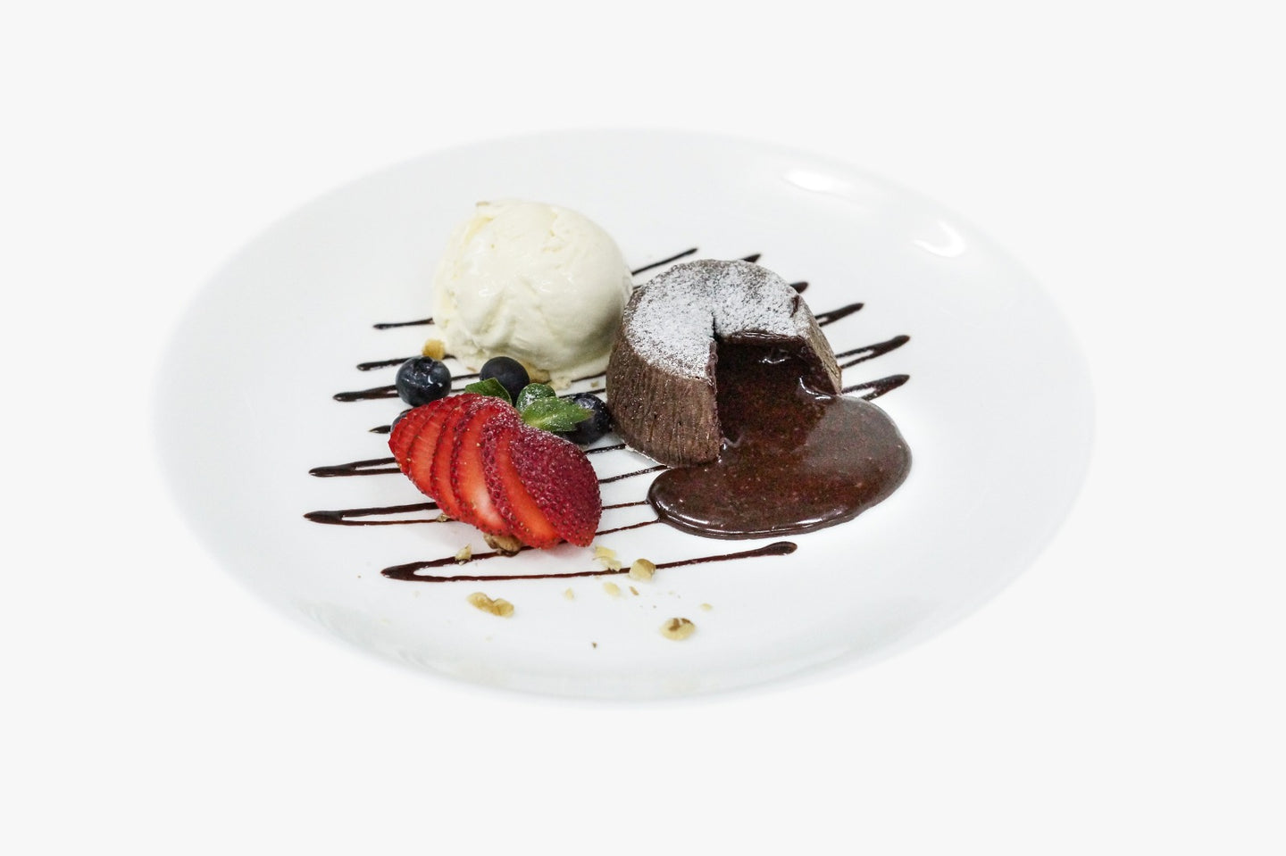 Dessert: Hot Chocolate Lava Cake (all day)
