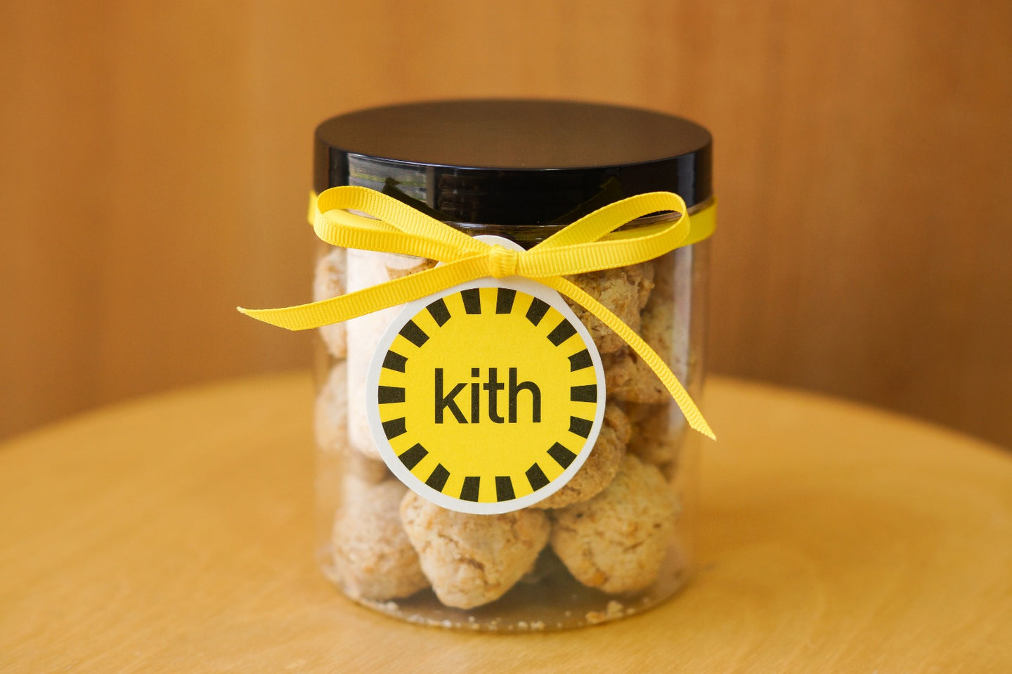 Cornflake Cookie Plastic Jar