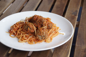 Lunch: Meatballs