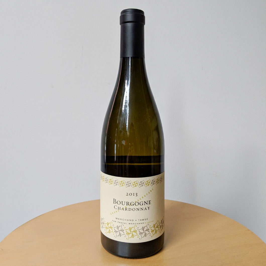 2013 PASCAL MARCHAND, BOURGOGNE CHARDONNAY (white)