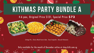 Kithmas Party Takeout Bundle A <Discount Included>