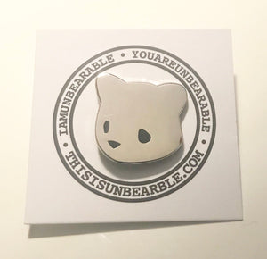 Unbearable Metal Pin