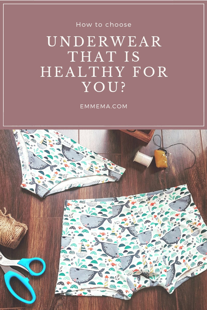 HOW TO CHOOSE UNDERWEAR THAT IS HEALTHY FOR YOU