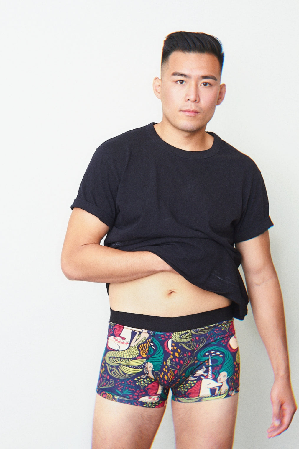Mermaid and Unicorn Boxer Briefs Organic cotton - EmMeMa | Buy comfy boxer briefs
