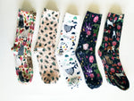 Organic Cotton fun print Socks - EmMeMa - Buy matching soft, comfy socks