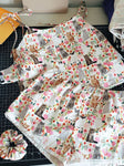 Vintage Cat Organic cotton Pajama set