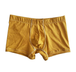Mustard Hemp and Organic cotton Boxer Briefs- sustainable | EmMeMa