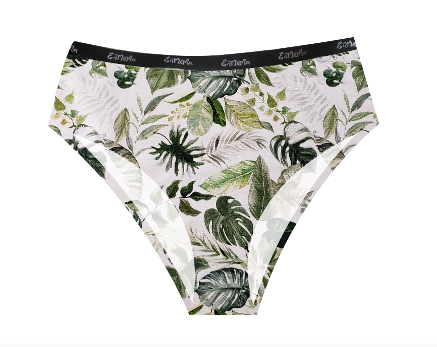 Monstera Deliciosa Organic Cotton Highwaist