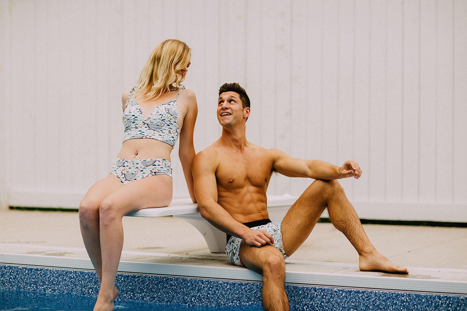 East Coast Couples Underwear Set - EmMeMa | Buy Handmade eco-conscious his and her underwear