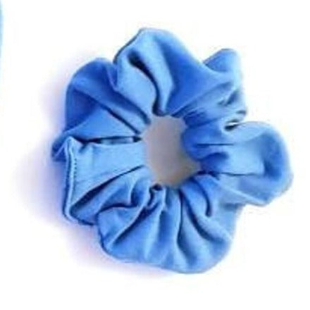 Azure Blue Matching Scrunchie