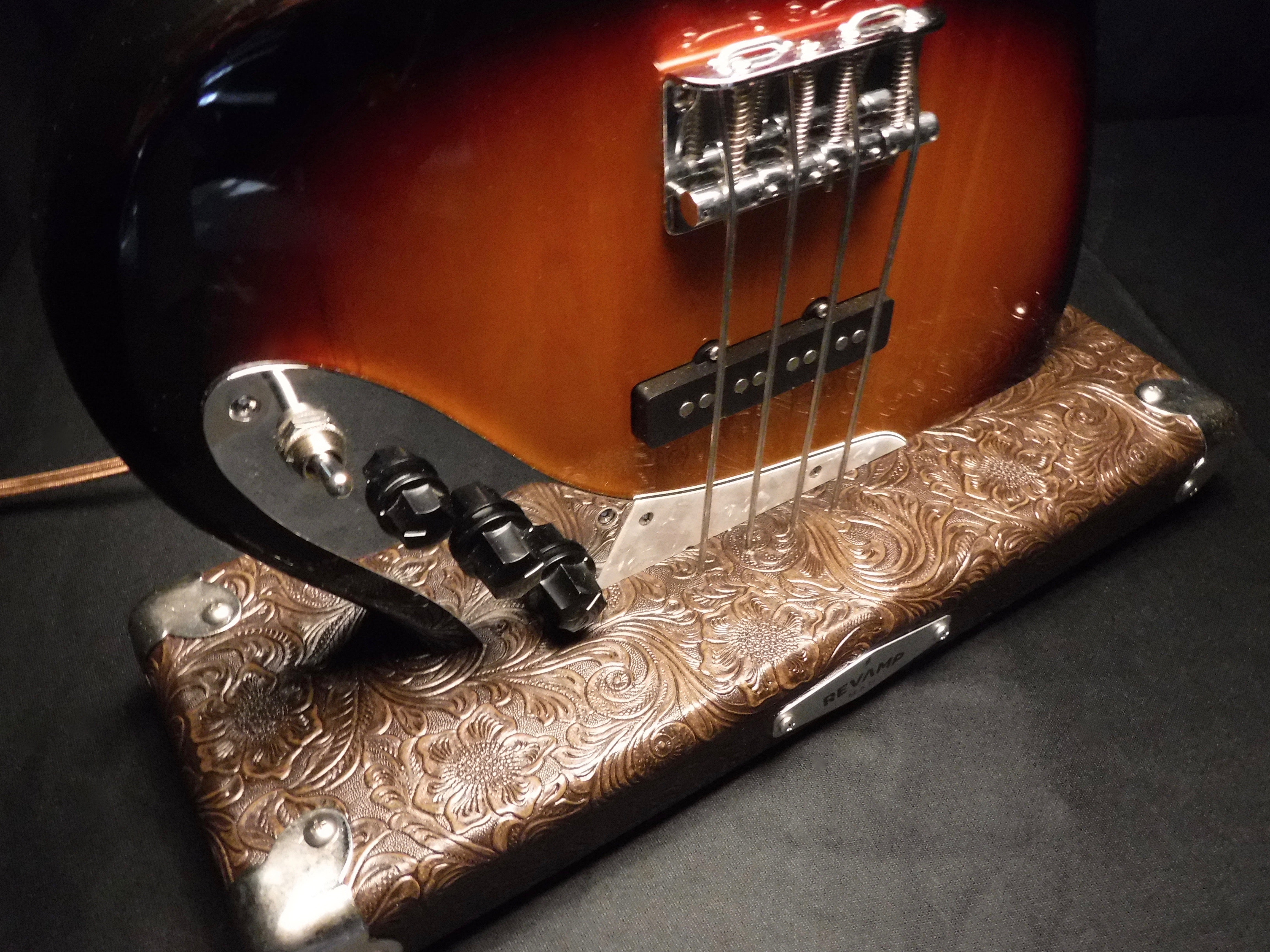 Guitar Lamp - Jazz Bass Style Bottoms Up  #020 of Collection