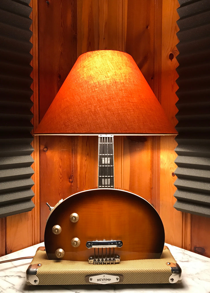 Guitar Lamp - LP Style Bottoms Up #042 of Collection