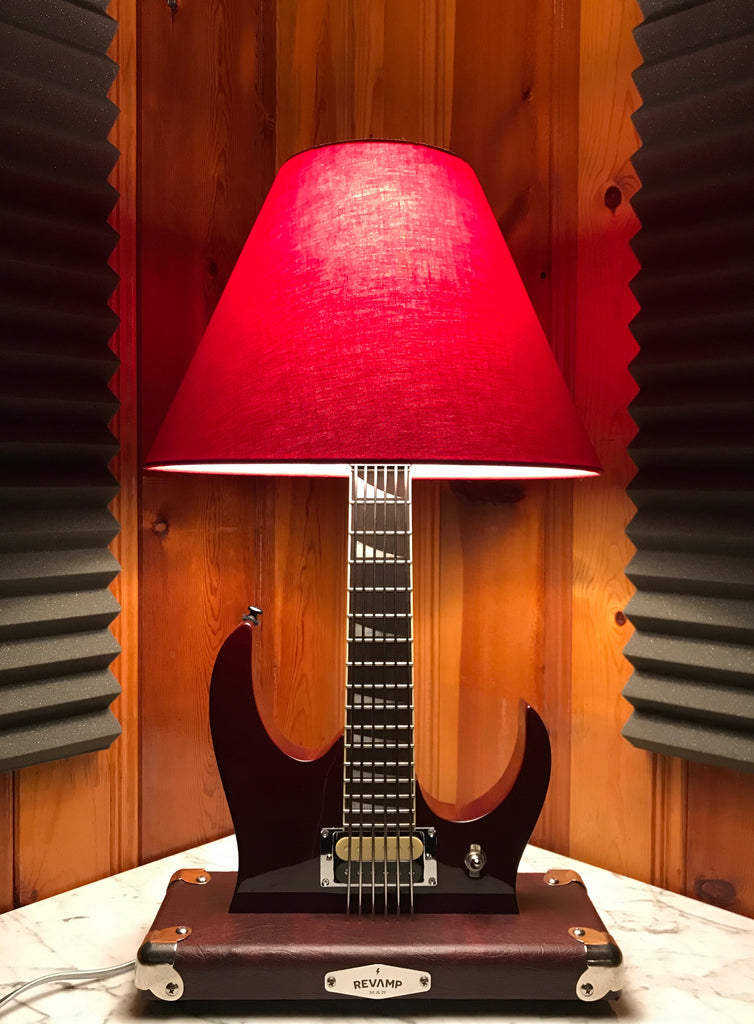 Guitar Lamp - 80's Metal Style #038 of Collection