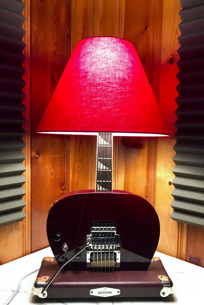 Guitar Lamp - 80's Metal style #035 of Collection