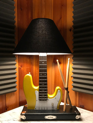 Guitar Lamp -  Rhythm Section P-Bass Style #046 of Collection