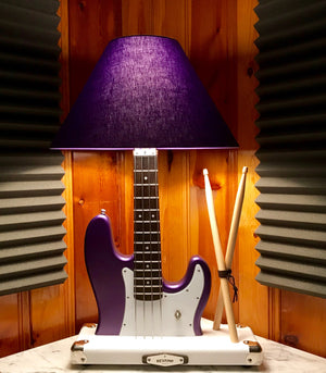 Guitar Lamp - Rhythm Section P-Bass #047 of Collection