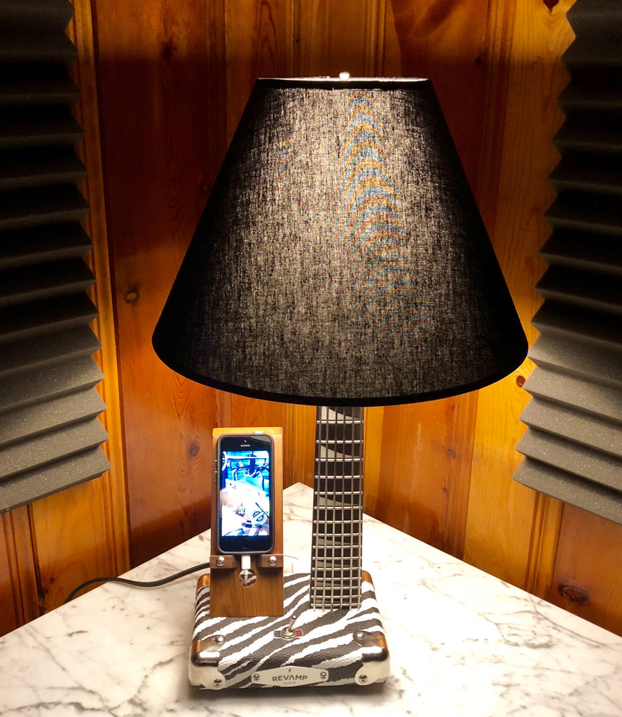Guitar Lamp / Phone Charger #053 of Collection