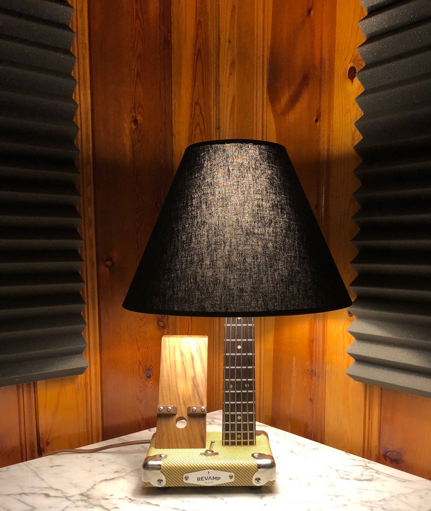 Guitar Lamp / Phone Charger  #052 of Collection