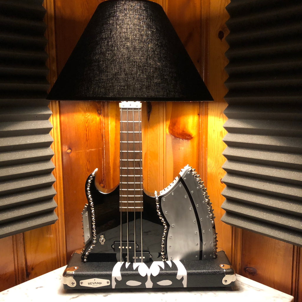 Guitar Lamp - SSIK AXE Lamp #051 of Collection
