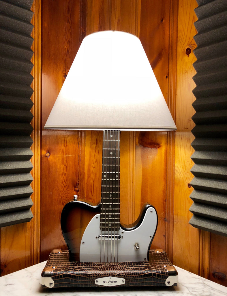 Guitar Lamp - 3 Tone Tele Style #057 of Collection