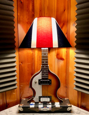 Guitar Lamp - Sir Paul Beatle Bass #050