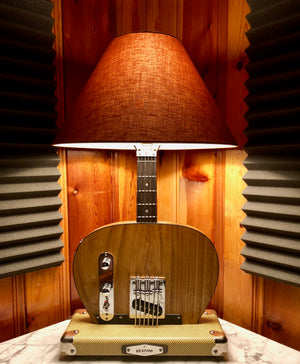 Guitar Lamp-Bottoms Up Tele Style #059  of Collection