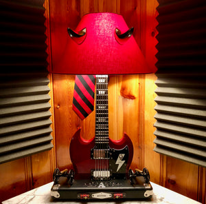 Guitar Lamp - For those about to Rock! #058