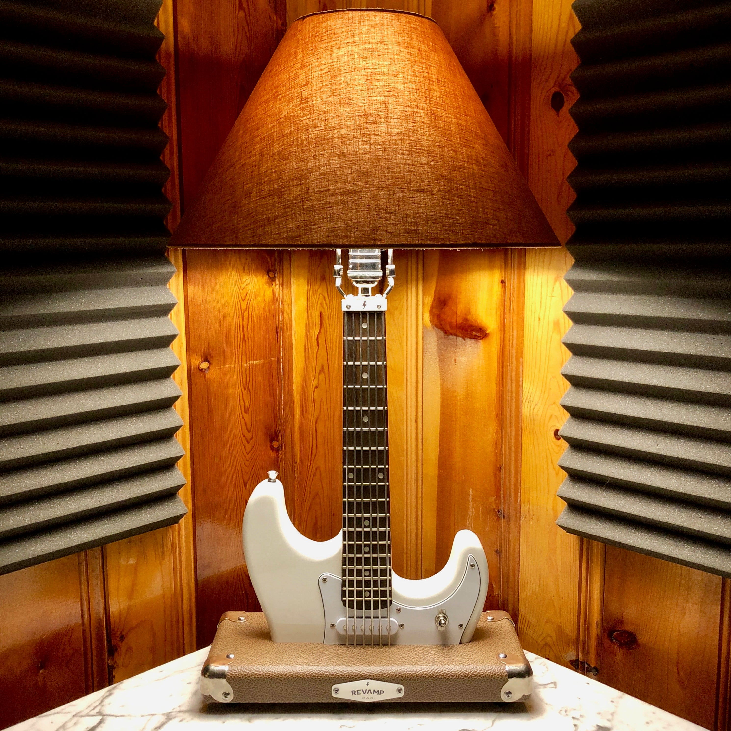 Strat Style White #063 of Collection