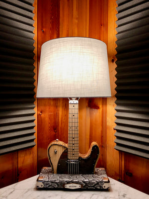 Guitar Lamp -  Texas Tele Style #016 of Collection